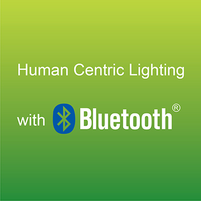 Human Centric Lighting with Bluetooth